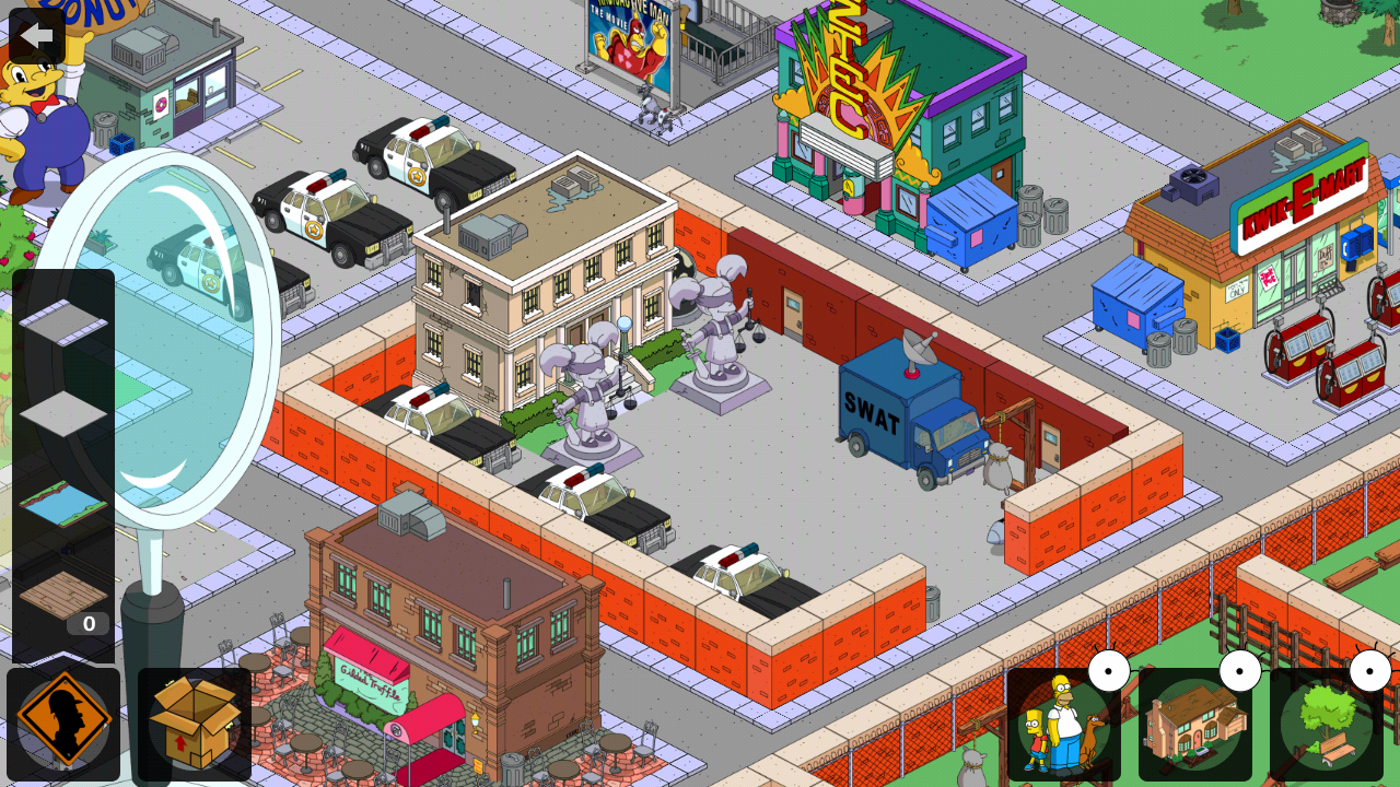 Sprinfield police station the simpsons tapped out topix - Police simpsons ...