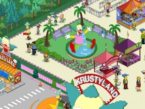 How Big Are Things In Krustyland The Simpsons Tapped