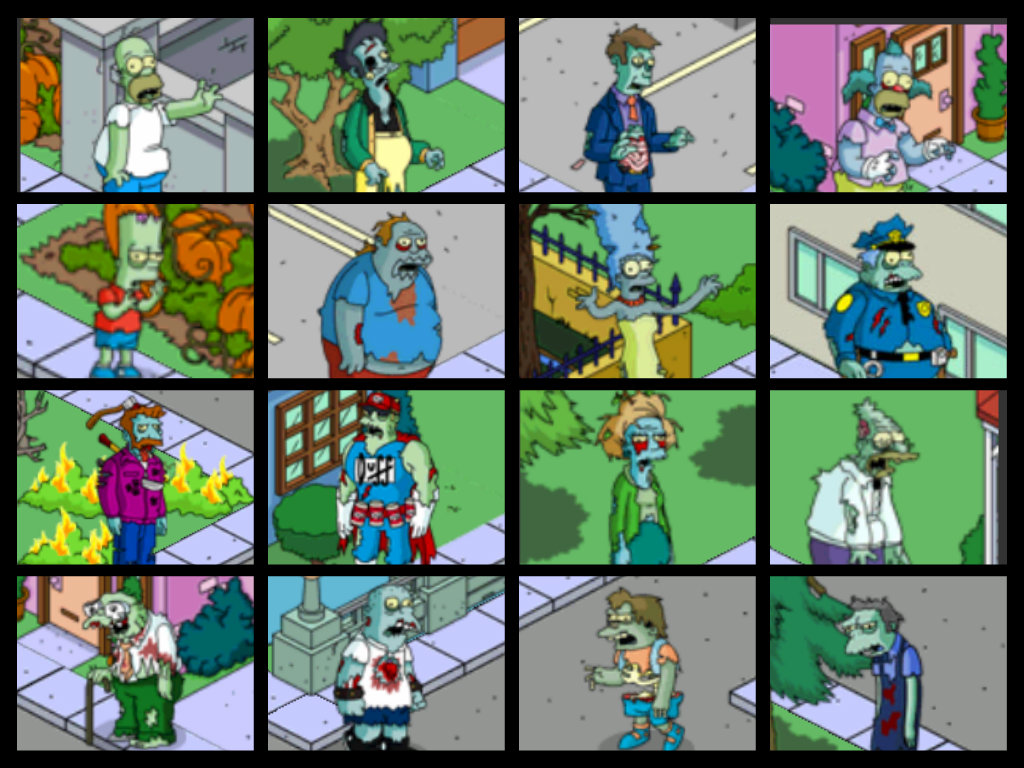 Halloween event when the children of Springfield turned into their