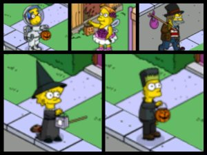 Repost: Halloween 2012/2013 | The Simpsons Tapped Out TopiX