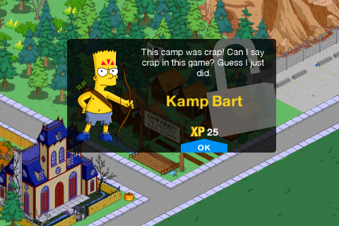 Naked bart game shields