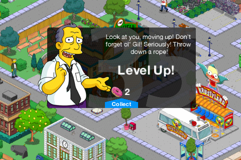 Simpsons tapped out level 34 release date / Yes man