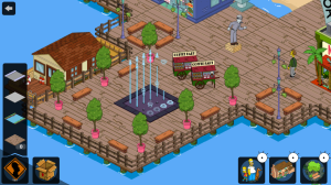 The Simpsons Tapped Out Boardwalk Fountain