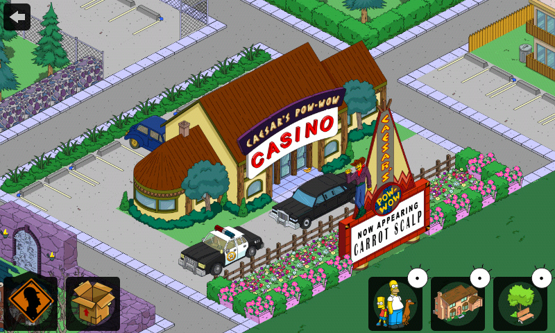 simpsons tapped out casino quest