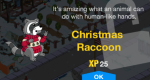 Tapped_Out_Christmas_Raccoon_New_Character