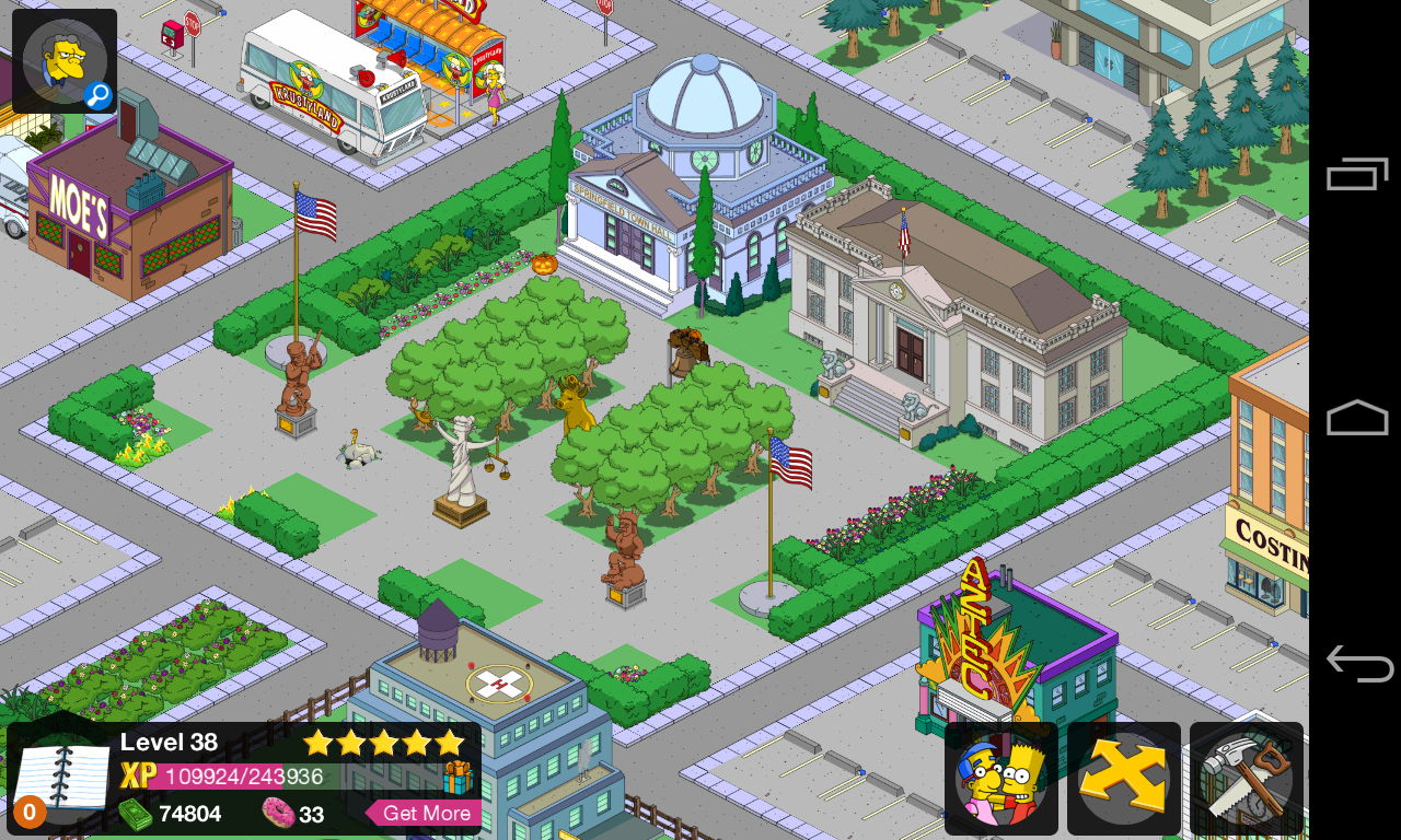 how to make money in simpsons tapped out
