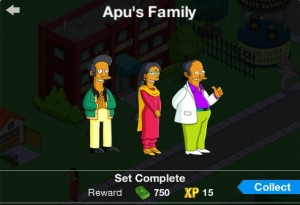 Apu's Family Character Set