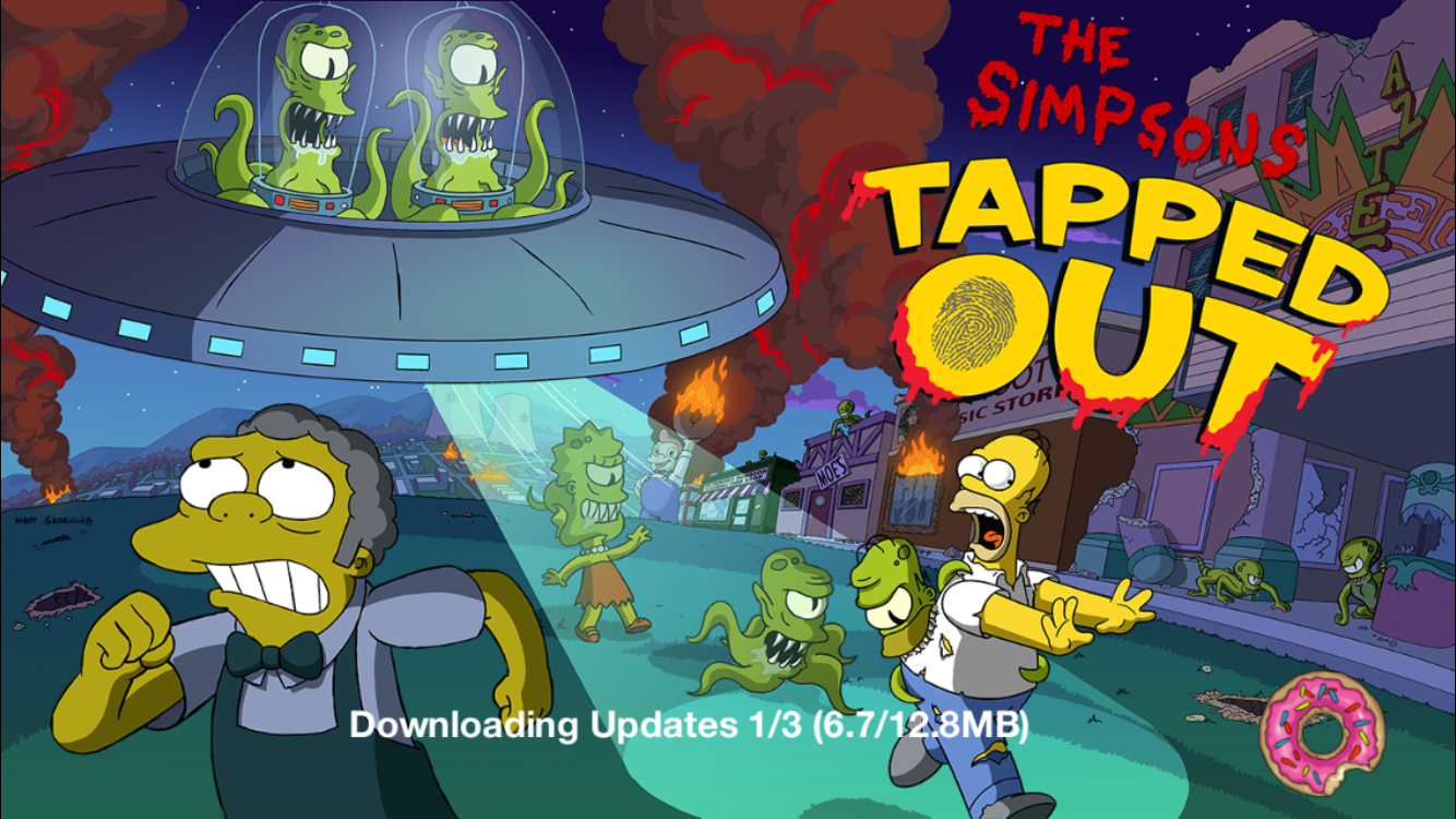 Simpsons Treehouse Of Horror Xxv Part - 36: The Simpsons Tapped Out TopiX