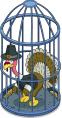 Caged Turkey