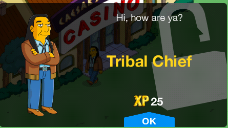 Tribal Chief Unlock