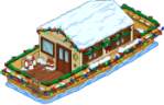 Houseboat Decorated