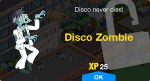 Disco Zombie Unlock