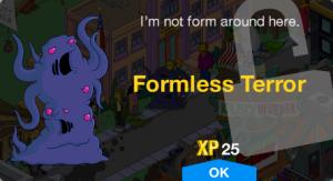 Formless Terror Unlock