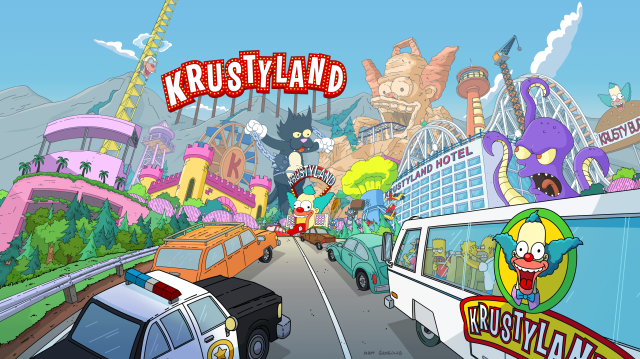 Unused Krustyland Splash