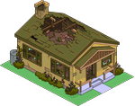 Destoyed Brown House