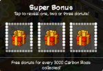 Tapped Out Super Bonus Carbon Rods