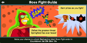 Tapped Out Boss Fight Guide