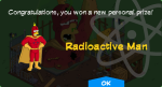 Tapped Out Radioactive Man Prize Unlock