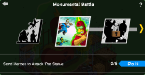Tapped Out The Monumental Battle