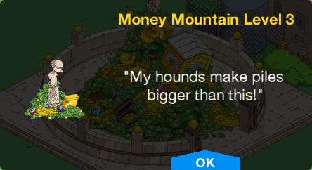 Tapped Out Money Mountain Level 3