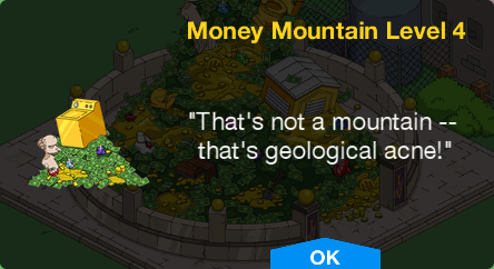 Tapped Out Money Mountain Level 4