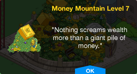 Tapped Out Money Mountain Level 7