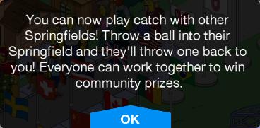 Community Prizes Message