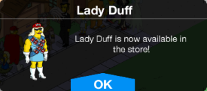 Lady Duff Available Store