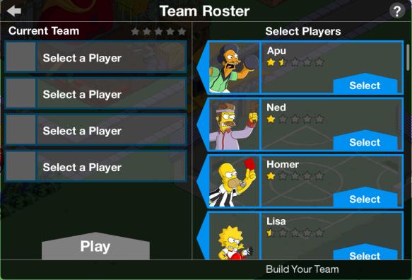 Team Roster