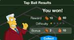 Tap Ball Won