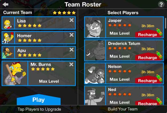 Team Roster 2
