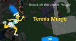 Tennis Marge Unlock