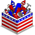 Patriotic Box of Fireworks