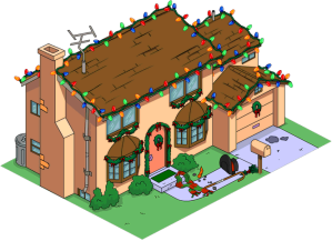 New Christmas Simpson House