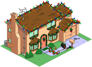 Old Christmas Simpson House