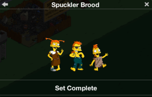 Spuckler Brood Character Set