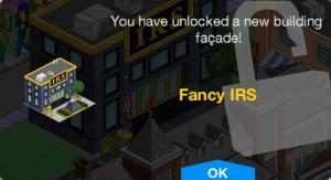 Fancy IRS Unlock