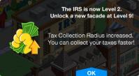 IRS Level Up