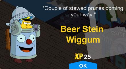 Beer Stein Wiggum Unlock