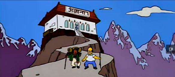 Homer and Apu season 5 episode 13 Simpsons World (20)