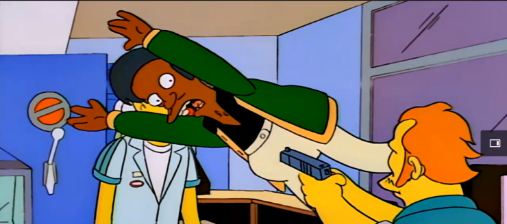 Homer and Apu season 5 episode 13 Simpsons World (23)