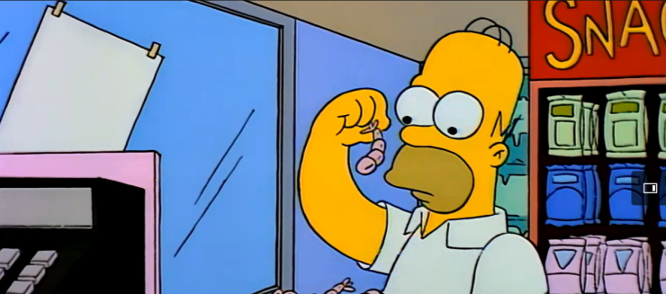 Homer and Apu season 5 episode 13 Simpsons World (9)