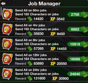 Job Manager 100%