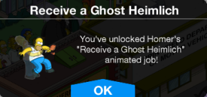 Receive a Ghost Heimlich Message