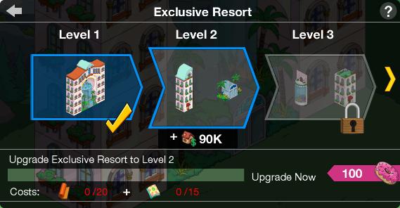 Exclusive Resort Upgrade