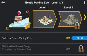 Exotic Petting Zoo Upgrade