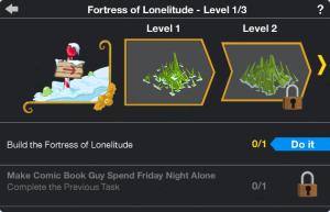 Fortress of Lonelitude Upgrade