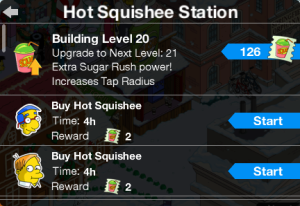 Hot Squishee Station