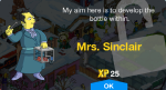 Mrs. Sinclair Unlock
