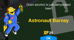 Astronaut Barney Unlock